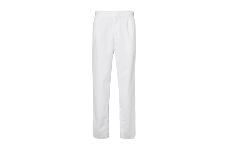 White Agro trousers