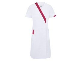 Red Clemence lab coat