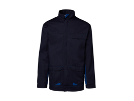 Blue Epitech bomber jacket